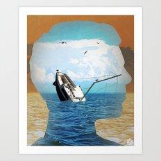 this mind Art Print