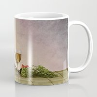 wine Mugs featuring Wine by Azot