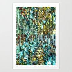 uRBAN dWELLINGS Art Print