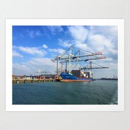 Southampton Port Art Print