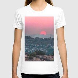 Otherworldly sunrise of Hampi, India T-shirt