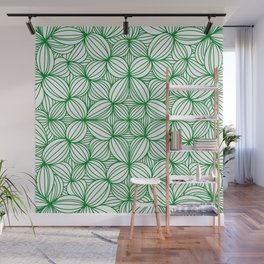 The grass is greener Wall Mural