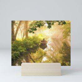 Alone Time Magic Mini Art Print
