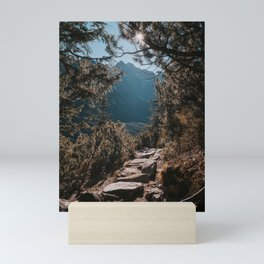 On the trail - Landscape and Nature Photography Mini Art Print