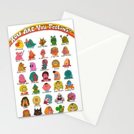 Feelings Revisited Stationery Cards