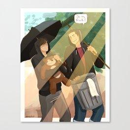 oh no neil Canvas Print