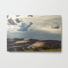 Great Sand Dunes at sunset Metal Print