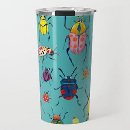 Bright Beetles Travel Mug