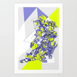 Transitions V2 Art Print