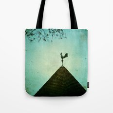 Colonial Rooster Tote Bag