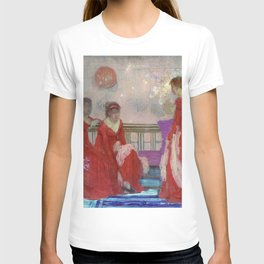 James McNeill Whistler - Harmony in Flesh Colour and Red - Digital Remastered Edition T-shirt