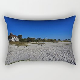 The Beach at Gasparilla State Park I Rectangular Pillow