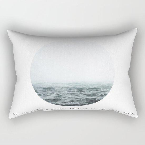 Sinking Stones Rectangular Pillow