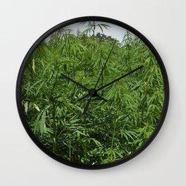marihuana Wall Clock