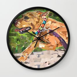 Running with Jonesy Wall Clock