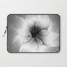 Ghost Flower Fractal Laptop Sleeve