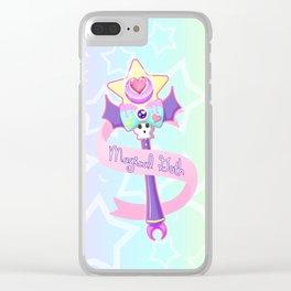 Magical Goth Clear iPhone Case