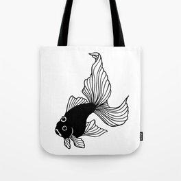 Three-eyed fish Tote Bag