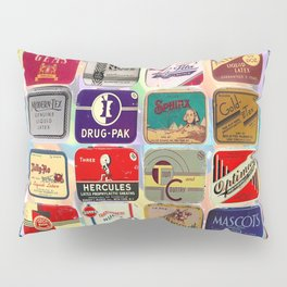 Antique Condoms Pillow Sham