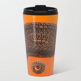 002: Clockwork Orange - 100 Hoopties Metal Travel Mug