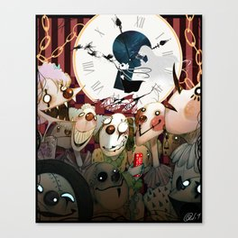 Clowns, Clowns, Clowns Canvas Print
