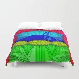 The theatre of unspoiled nature ... Duvet Cover