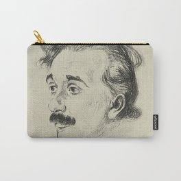 Albert Einstein, illustrated in 1923 Carry-All Pouch
