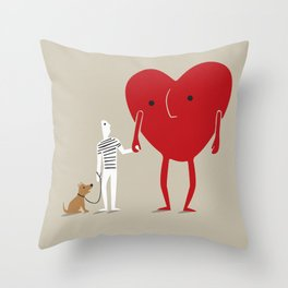 beginners Throw Pillow