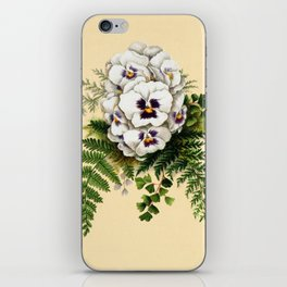 Pansy Easter Egg iPhone Skin