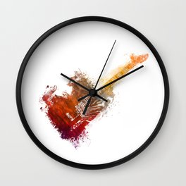 Bass Guitar Wall Clock