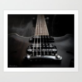 FRETBOARD JOURNEY Art Print