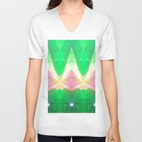 illuminati V-neck T-shirts featuring Illuminati by Ali Manno