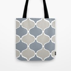 MARRAKECH PATTERN GreyBlue Tote Bag