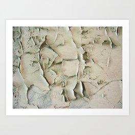 Dying wall Art Print