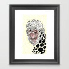Monstrous and Free Framed Art Print