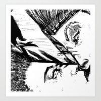 Parallel  Mirrorverse Art Print