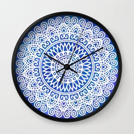 Delicate Lace - LaurensColour Wall Clock
