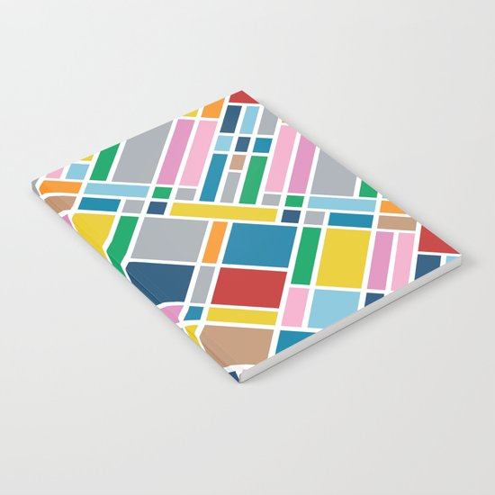 Map Outline 45  Notebook