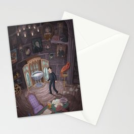 Headmaster's Office Stationery Cards