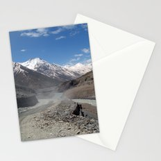 Dusty Road in Lahaul Valley Stationery Cards