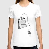 literary T-shirts featuring Literary Tea by Lizzi Davis
