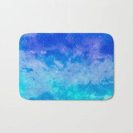 Sweet Blue Dreams Bath Mat
