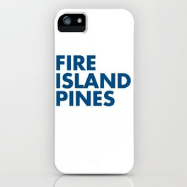 FIRE ISLAND PINES iPhone Case