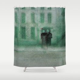 The Monster Series (1/8) Shower Curtain