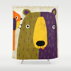 WAKE UP CALL Shower Curtain