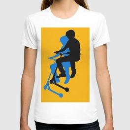 Landing Gears - Stunt Scooter Rider T-shirt