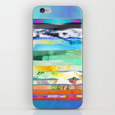 COLLAGE LOVE - a Princess and a pea  iPhone & iPod Skin