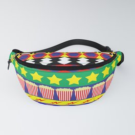 The Circus Pattern Fanny Pack