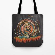The Geometry of Sunrise Tote Bag