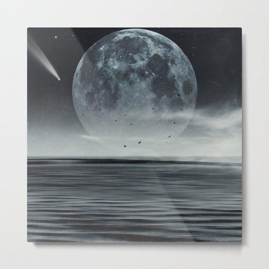 oceans of tranquility Metal Print